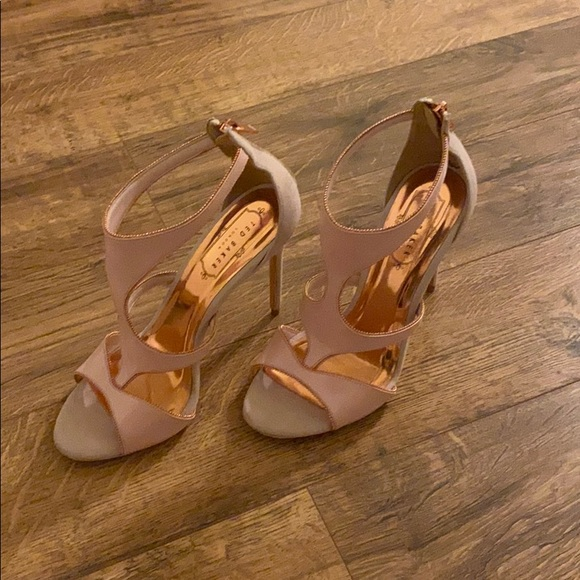 Ted Baker London Shoes - Ted Baker pink high heeled sandals